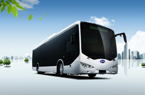 BYD autobus electrico