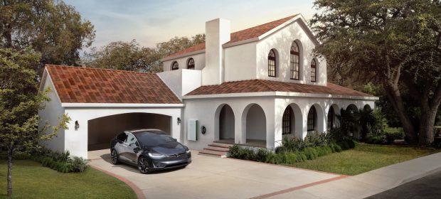 Tesla Solar Roof Teja Toscana