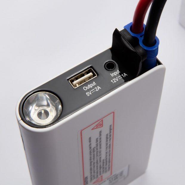 bateria multiusos conexion pinzas coche