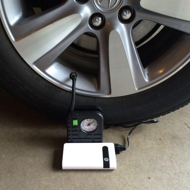 bateria multiusos inflado ruedas