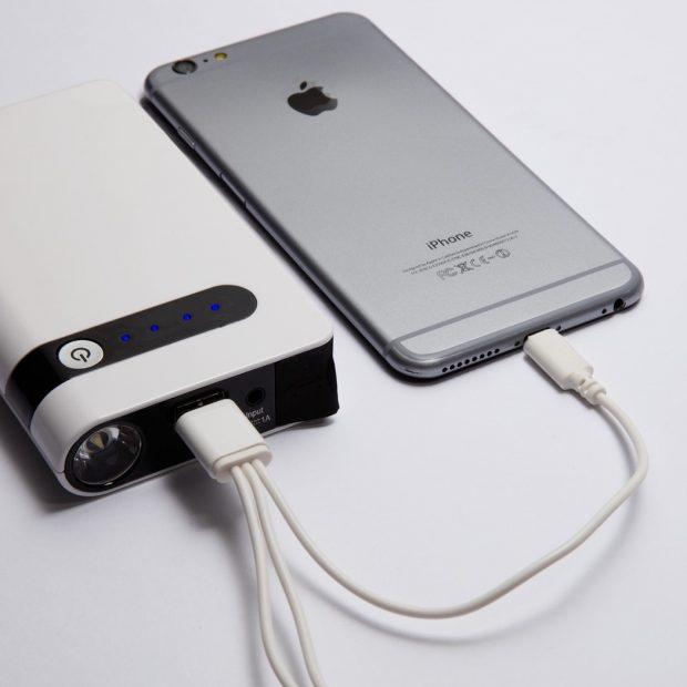 bateria multiusos recarga iphone