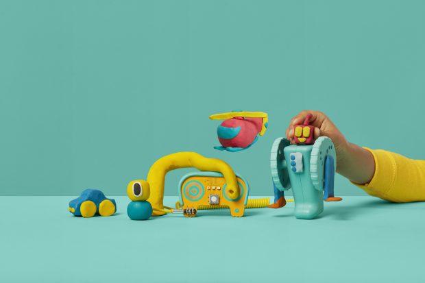Dough Universe, juguete plastilina electrica - Kit de maquinas