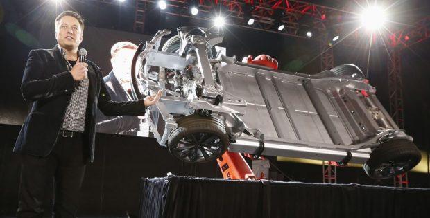 Elon Musk hablando de las baterías de los Tesla